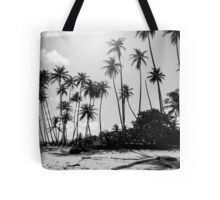 Caribbean Palm Trees Tote Bag