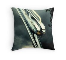 1950 Cadillac Mascot Throw Pillow