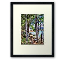 Riverwalk Trail Framed Print