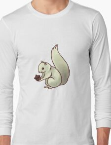 Squirrel with Acorn Long Sleeve T-Shirt