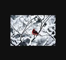 Cardinal In Snow Covered Tree T-Shirt