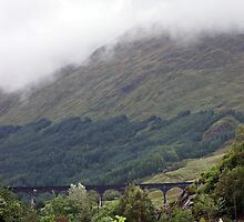 Glenfinnan Viaduct  by Sherri Fink