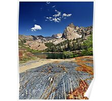 Glacial Grooves Lake Blanche Poster