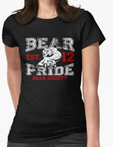 Bear Society Pride, Est. 12 Womens Fitted T-Shirt