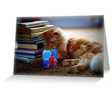 Scholastic Kitty Greeting Card