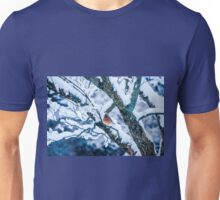 Female Cardinal In Snowy Tree T-Shirt