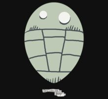 Trilobite Boy Fan by Glendon Mellow