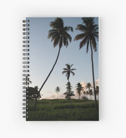 Lonely Palm Trees Spiral Notebook