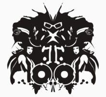 The Rorschach Test One Piece - Short Sleeve