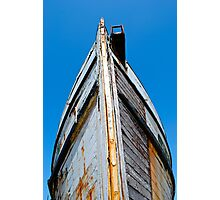 Old Boat Bow Photographic Print