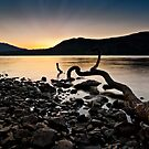 Sunrise at Derwent Water, Cumbria by David Lewins LRPS