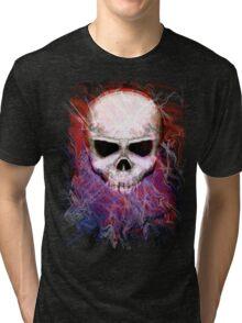 Color Skull Tri-blend T-Shirt
