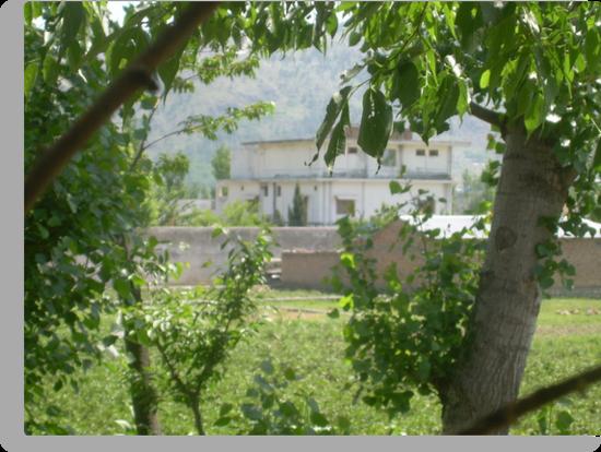 Pakistan- Al-Qaeda leader Osama bin Laden Compound  by Adnan Ali Qureshi