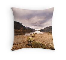View from Glenfinnan Throw Pillow