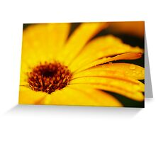 The Yellow Flower II Greeting Card