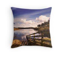 Tranquility - Kielder Reservoir Throw Pillow