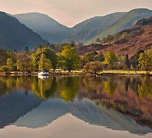Morning light on the Ullswater fells by Shaun Whiteman