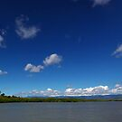 Blue Cloudy Sky Panorama by 104paul