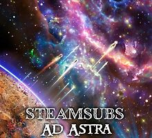 Steamsubs Ad Astra by Bob Bello