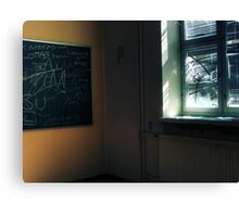 7.5.2011: End of the School Days I Canvas Print