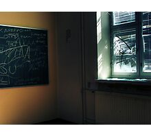 7.5.2011: End of the School Days I Photographic Print