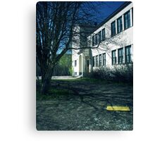 7.5.2011: End of the School Days III Canvas Print