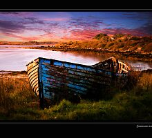 Connemara Sunset by michaelpaule