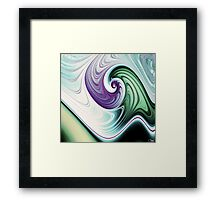Wave Goodbye Framed Print