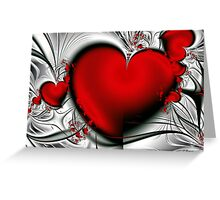 Bleeding Love Greeting Card