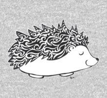 Dreamy Hedgehog One Piece - Long Sleeve
