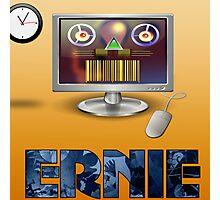 Ernie, Premium Bond picker Photographic Print