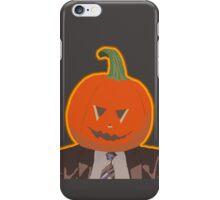 Jack-O-Lantern Dwight iPhone Case/Skin