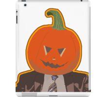 Jack-O-Lantern Dwight iPad Case/Skin