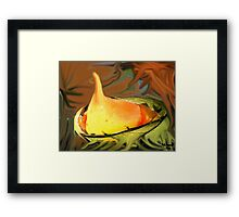 Melted Heart- My heart has melted  Framed Print