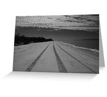 Surf Beach Bribie Island Greeting Card