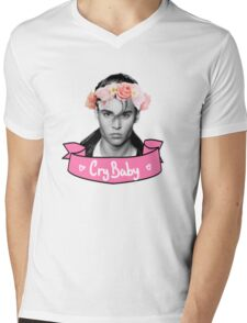 CryBaby  Mens V-Neck T-Shirt