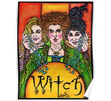 Witch Sisters Poster