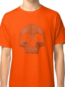 "Hamlet ""to be or not to be"" typography skull Classic T-Shirt"