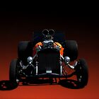 "1923 Ford Bucket T Hot Rod ""The Skulls"" by TeeMack"