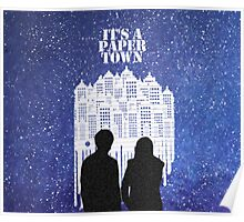 Paper Towns with Stars Poster