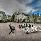 Courtyard of Bodelwyddan Castle by John Hare