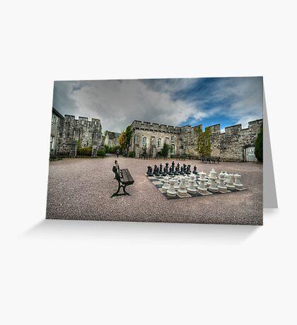 Courtyard of Bodelwyddan Castle Greeting Card
