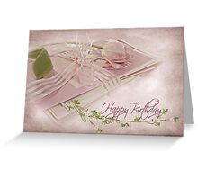 Tied With A Bow Greeting Card