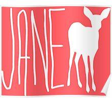 Max's Shirt - Jane Doe  Poster