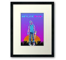 Hotline Miami Framed Print