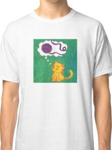 Daydreaming Kitten: Yarn!  Classic T-Shirt