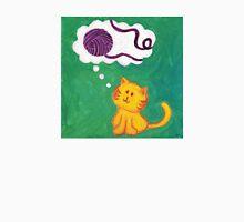 Daydreaming Kitten: Yarn!  Unisex T-Shirt