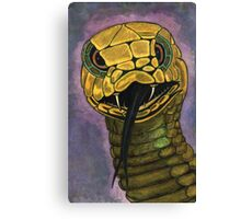 91 - SNAKE - DAVE EDWARDS - WATERCOLOUR - 2002 Canvas Print