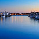 Sunset over the Marina by camfischer