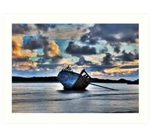 Donegal Shipwreck (Eddies boat) Art Print